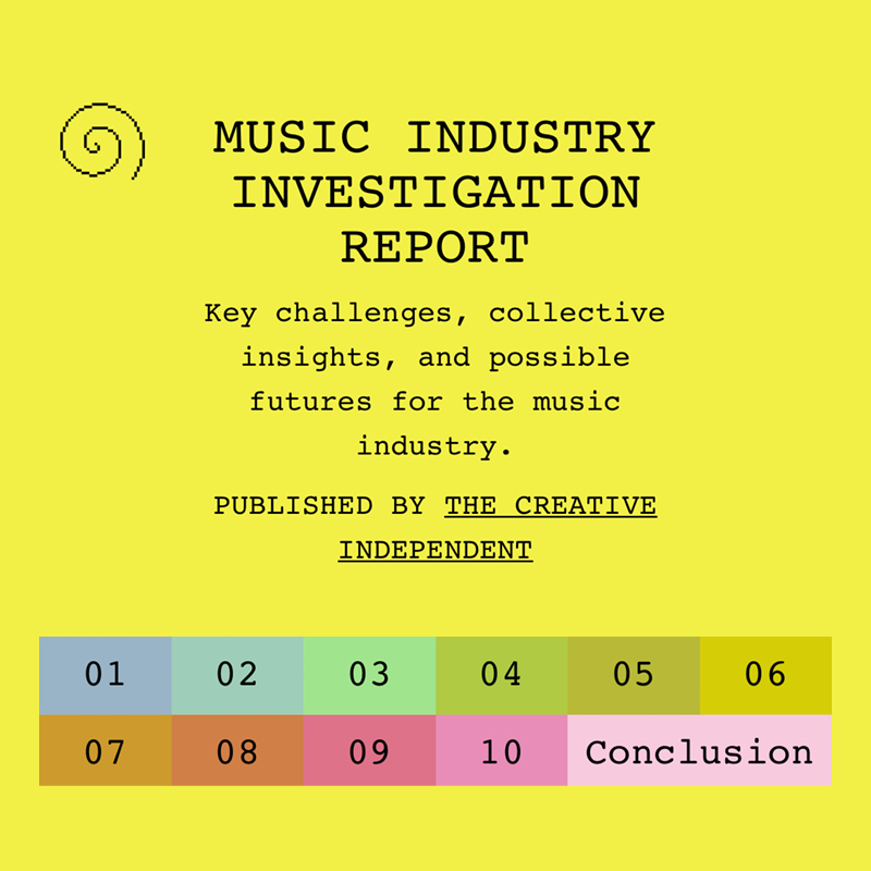 Music Industry Investigation Report